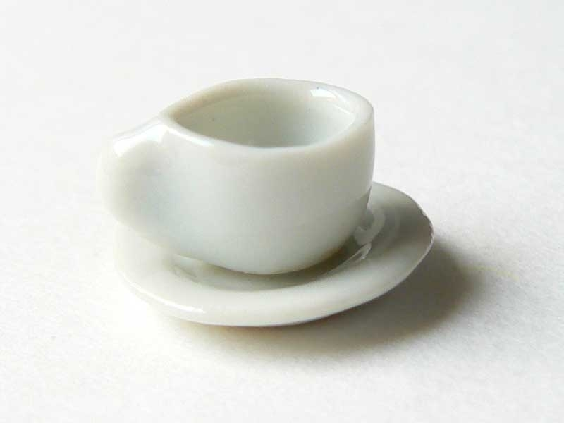Small tea cup and saucer
