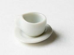 Kleine Teetasse mit Untertasse