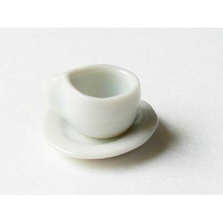 Petite tasse à thé et sa soucoupe  - 2