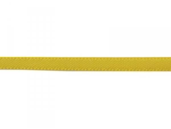 1 m of satin ribbon (3 mm) - sunshine yellow (colour no. 650)