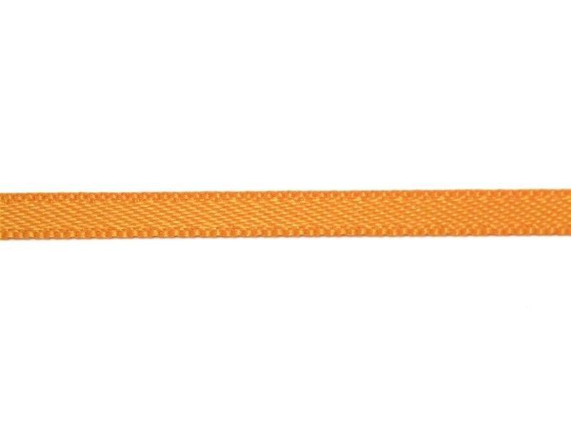 1 m de ruban satin uni orange vif 668 - 3 mm