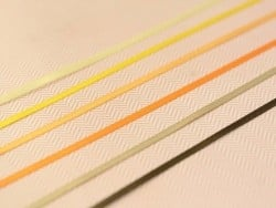 1 m de ruban satin uni jaune soleil 650 - 3 mm