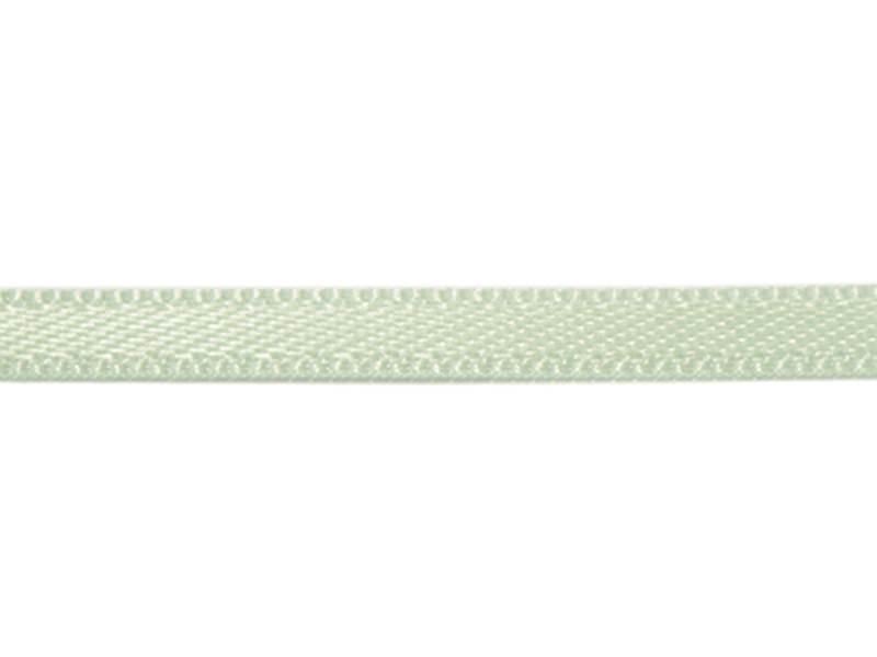 1 m de ruban satin uni vert amande 510 - 3 mm