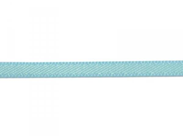 1 m de ruban satin uni turquoise 317 - 3 mm  - 1