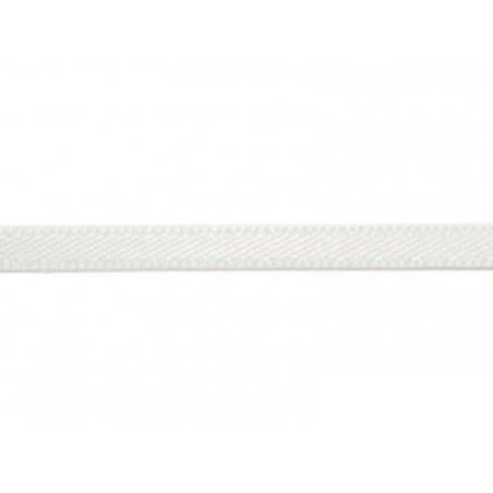 1 m de ruban satin uni blanc 029 - 3 mm  - 1