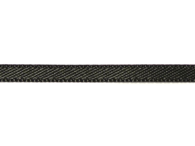 1 m de ruban satin uni noir 030 - 3 mm  - 1