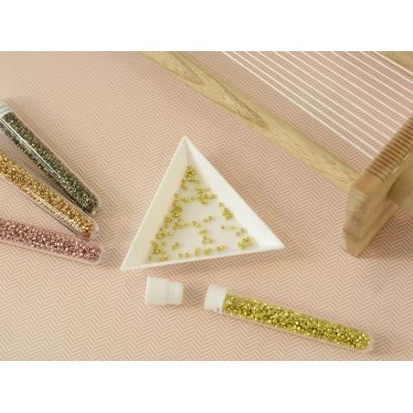 Acheter Miyuki delicas 11/0 - Rosegold 1839 - 4,00€ en ligne sur La Petite Epicerie - 100% Loisirs créatifs