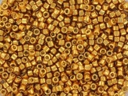 Acheter Miyuki delicas 11/0 - Duracoat galvanised yellow gold 1833 - 4,00€ en ligne sur La Petite Epicerie - Loisirs créatifs