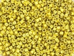 Tube de 1100 rocailles - Miyuki delicas 11/0 - vert citron métallisé 1835