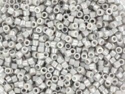 Tube de 1100 rocailles - Miyuki delicas 11/0 - gris taupe 1538