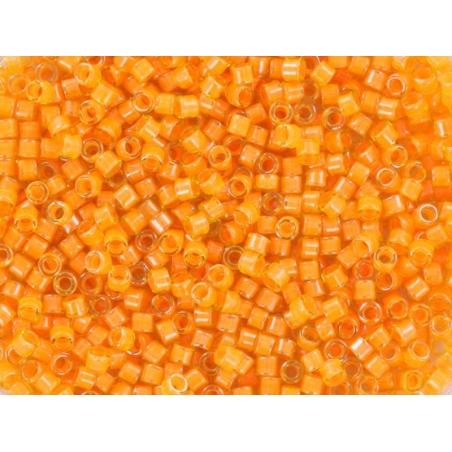 Miyuki Delicas 11/0 - mango orange (colour no. 2045)