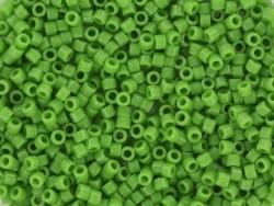 Tube de 1100 rocailles - Miyuki delicas 11/0 -vert opaque 724