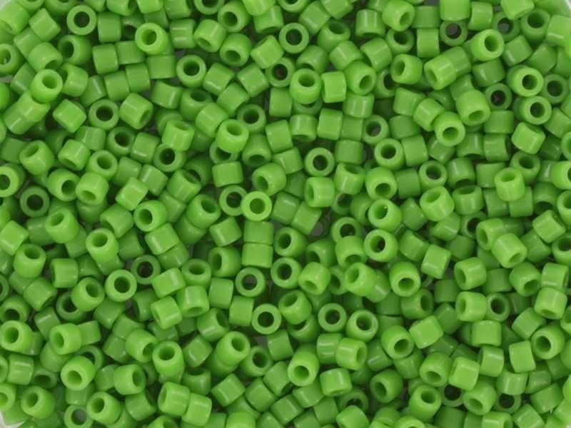 Miyuki delicas 11/0 -vert opaque 724  - 1