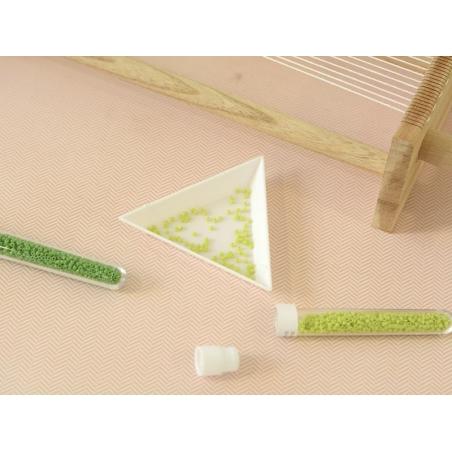 Miyuki delicas 11/0 -vert opaque 724  - 2