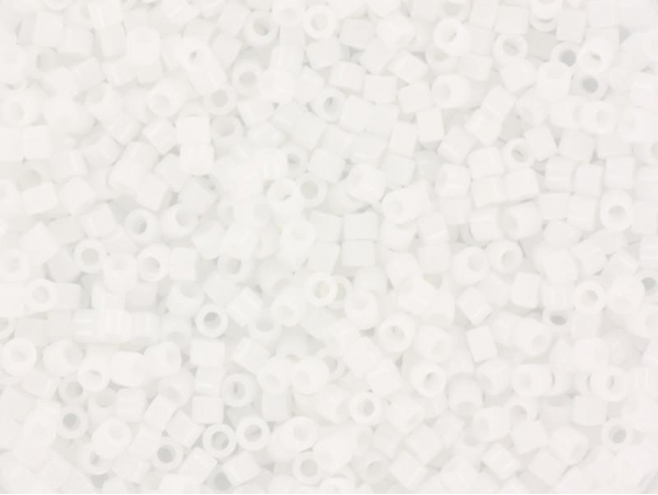 Miyuki delicas 11/0 - blanc 200  - 1
