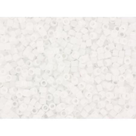 Miyuki Delicas 11/0 - white (colour no. 200)
