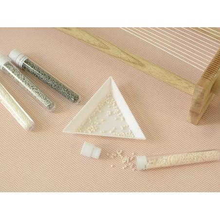 Acheter Miyuki delicas 11/0 - blanc 200 - 1,99€ en ligne sur La Petite Epicerie - 100% Loisirs créatifs