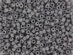 Tube de 1100 rocailles - Miyuki delicas 11/0 - gris opaque 731