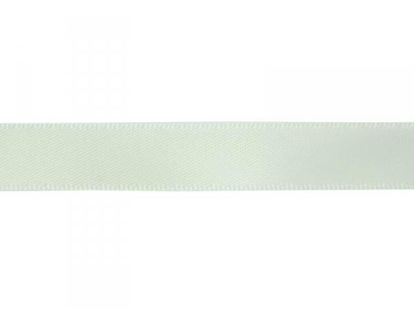 1 m de ruban satin uni vert amande 510 - 13 mm