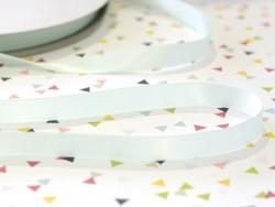 1 m einfarbiges Satinband (13 mm) - pistaziengrün (Farbnr. 510)