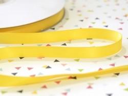 1 m de ruban satin uni jaune soleil 650 - 13 mm