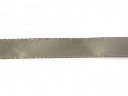 1 m of satin ribbon (13 mm) - grey (colour no. 017)