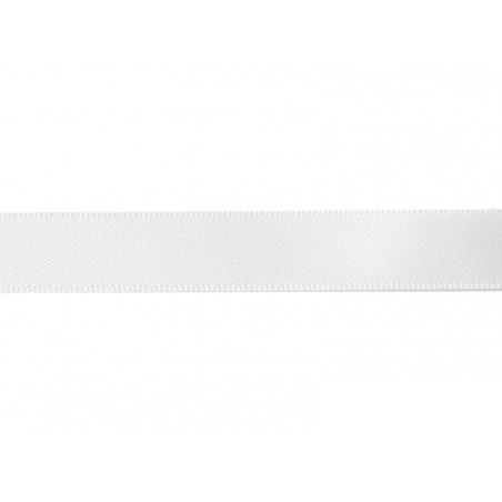 1 m of satin ribbon (13 mm) - white (colour no. 029)
