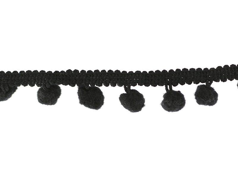Acheter 1m galon de petits pompons - noir 014 - 2,29€ en ligne sur La Petite Epicerie - Loisirs créatifs