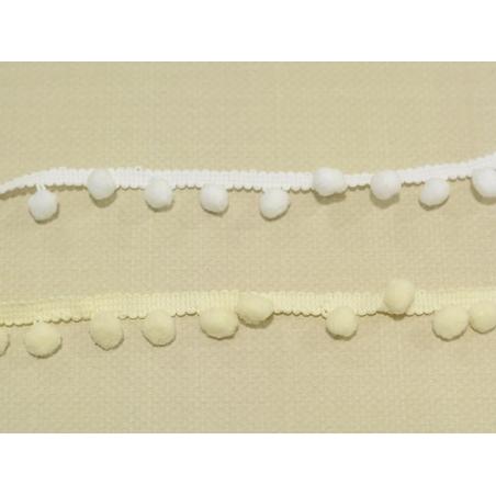 Acheter 1m galon de petits pompons - blanc 001 - 2,29€ en ligne sur La Petite Epicerie - 100% Loisirs créatifs