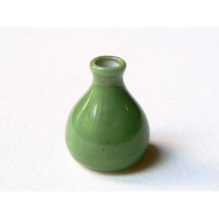 Vase vert  - 1
