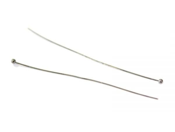 Acheter 10 clous à tête boule - couleur noir argenté - 0,49€ en ligne sur La Petite Epicerie - Loisirs créatifs