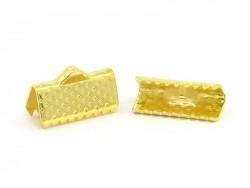 Bandklemme (13 mm) - golden