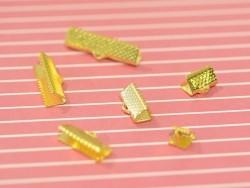 Fermoir griffe 13 mm - dorée
