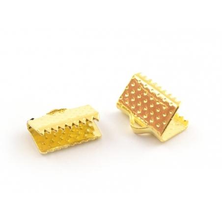 Fermoir griffe 10 mm - dorée