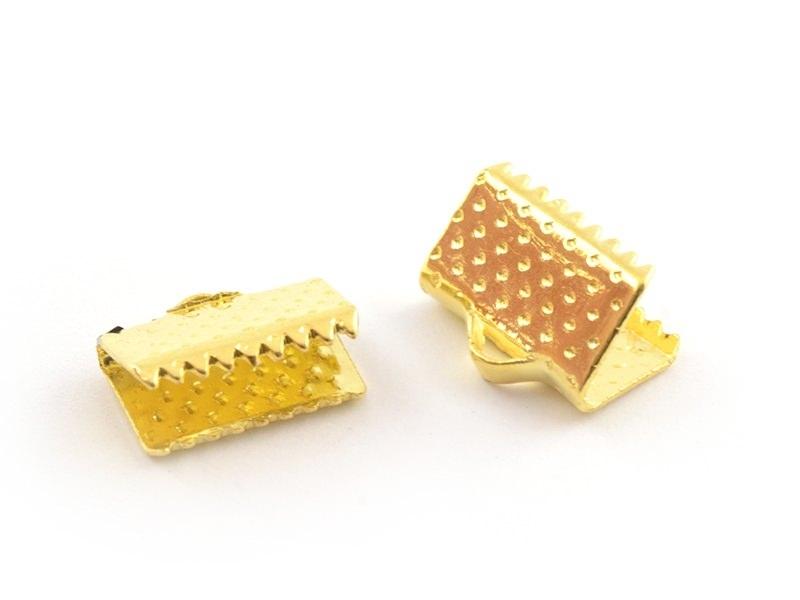 Acheter Fermoir griffe 10 mm - dorée - 0,19€ en ligne sur La Petite Epicerie - Loisirs créatifs