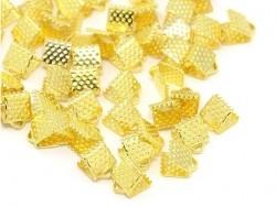 Bandklemme (6 mm) - golden