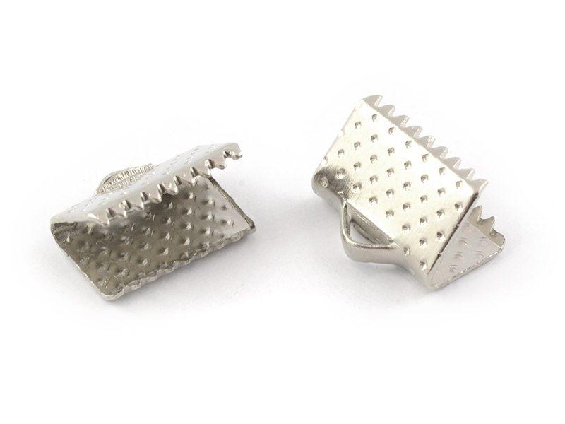 Acheter Fermoir griffe 10 mm - argenté foncé - 0,19€ en ligne sur La Petite Epicerie - 100% Loisirs créatifs