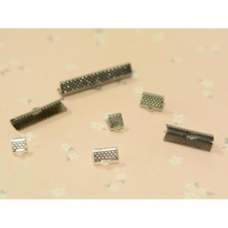 Acheter Fermoir griffe 10 mm - argenté clair - 0,19€ en ligne sur La Petite Epicerie - Loisirs créatifs