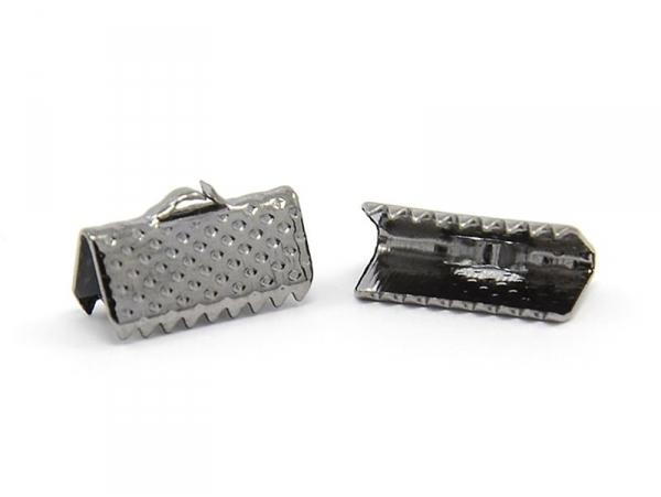 Ribbon clamp (16 mm) - Metallic black