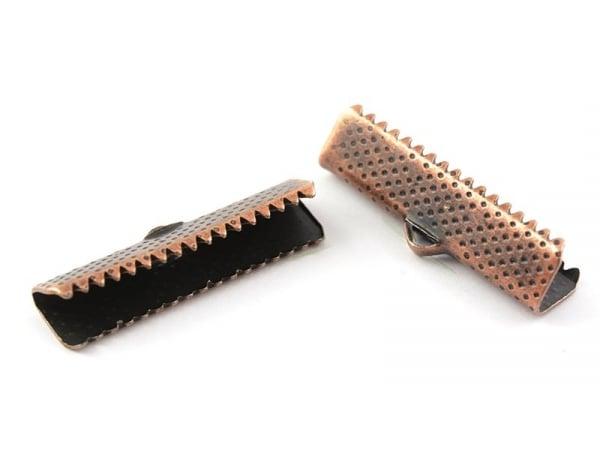 Acheter Fermoir griffe 20 mm - cuivre - 0,19€ en ligne sur La Petite Epicerie - Loisirs créatifs