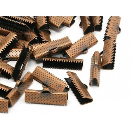 Fermoir griffe 13 mm - cuivre  - 2