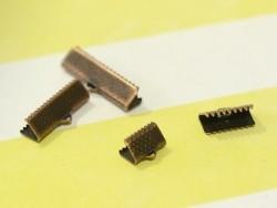 Fermoir griffe 10 mm - cuivre