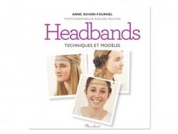 """French book """"Mini  headbands - techniques et modèles"""""""