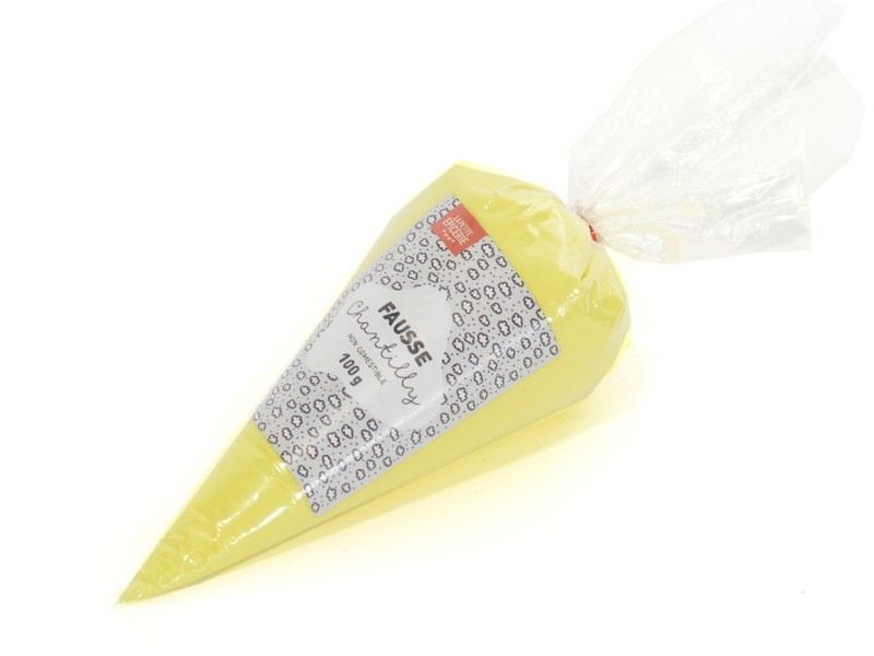 Yellow whipped cream, 100 g