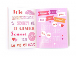 """Livre """" 300 stickers pour dire je t'aime"""""""