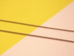 Acheter Chaîne gourmette 1mm cuivré x 20 cm - 0,39€ en ligne sur La Petite Epicerie - 100% Loisirs créatifs
