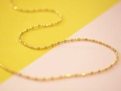 1m chaîne bille fantaisie couleur doré