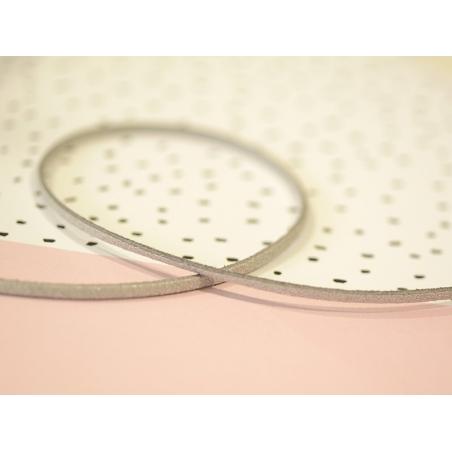 Acheter 1m cordon simili cuir - argenté - 0,79€ en ligne sur La Petite Epicerie - 100% Loisirs créatifs