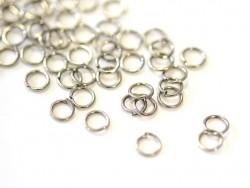 Acheter 100 anneaux métal noir - 5 mm - 0,29€ en ligne sur La Petite Epicerie - Loisirs créatifs