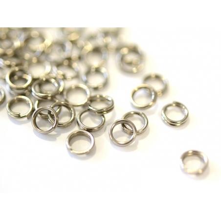Acheter 100 anneaux doubles métal noir - 5 mm - 0,59€ en ligne sur La Petite Epicerie - 100% Loisirs créatifs